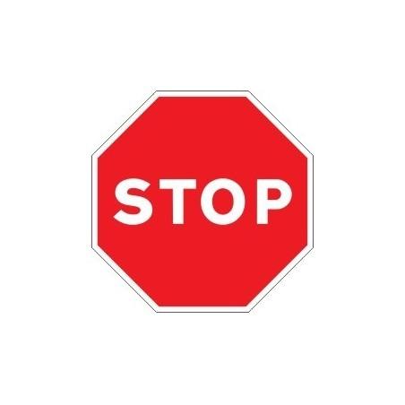 SEÑAL STOP DE TRAFICO ECONOMICA