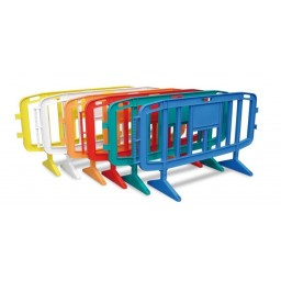 valla plástico colores
