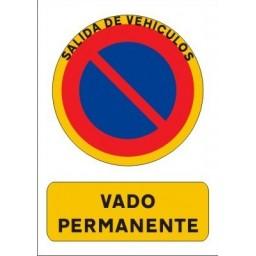 PLACAS DE VADO STANDAR