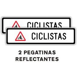 SEÑAL V-22 ACOMPAÑAMIENTO CICLISTAS