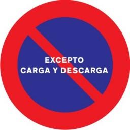 SEÑAL PROHIBIDO APARCAR R308