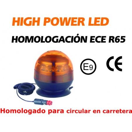 ROTATIVO LED AMBAR R65