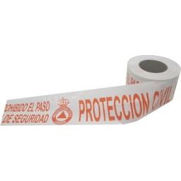 CINTA SEÑALIZACIÓN PROTECCIÓN CIVIL