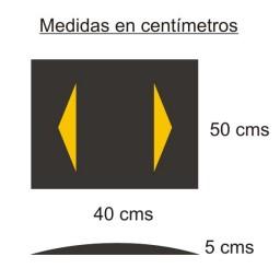 REDUCTOR DE VELOCIDAD 40X50X5