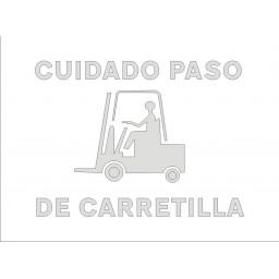 PLANTILLA PASO CARRETILLA ELEVADORA