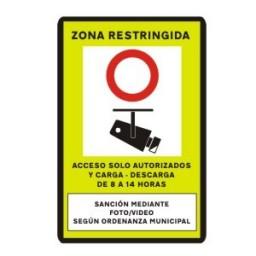 SEÑAL ZONA ACCESO RESTRINGIDO
