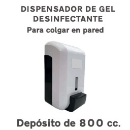 DISPENSADOR GEL DESINFECTANTE COVID19