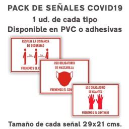 PACK SEÑALES COVID19