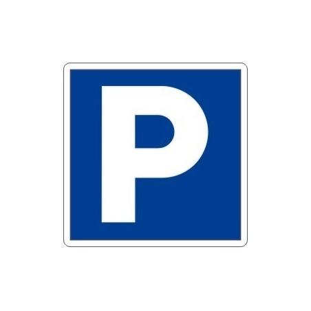 SEÑAL P PARKING DE TRAFICO