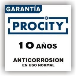 HORQUILLA ACERO DE PROTECCION