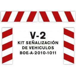 SEÑAL V-2 KIT DE VEHÍCULOS