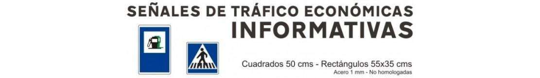 SEÑALES DE TRÁFICO ECONOMICAS DE INFORMACION