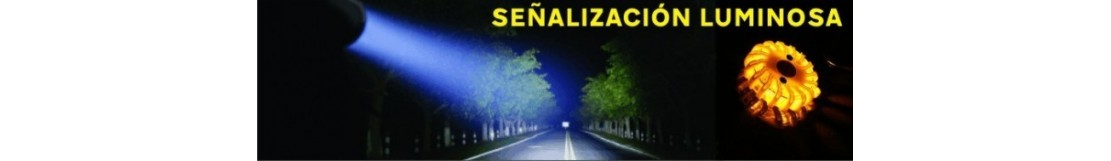 Balizas LED y luminarias