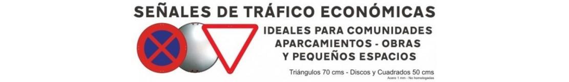 SEÑALES DE TRÁFICO ECONÓMICAS