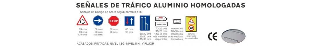 Señales de aluminio homologadas
